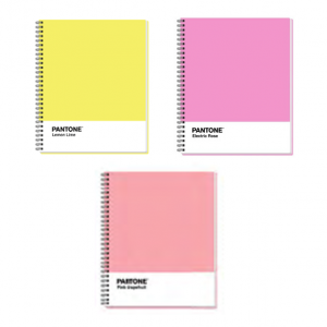 Pantone Cuadernos Cuadros Pastel 100 Hojas