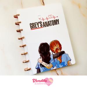 Vendita Enfermera Libreta Greys Anatomy