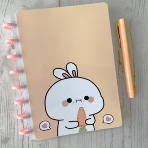 Rabbit Cuaderno Puntos