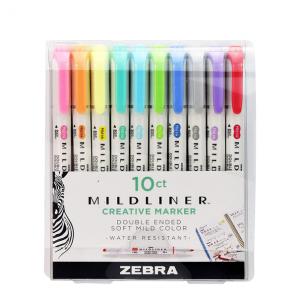 Zebra Mildliner Set destacadores 10 unidades